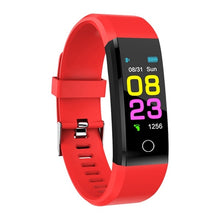 Load image into Gallery viewer, ZAPET Fitness Tracker Smartwatch Sport Watch Red | etrolleys.com | The Best Budget Price High Quality