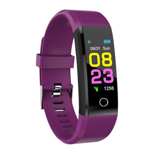 ZAPET Fitness Tracker Smartwatch Sport Watch Purple | etrolleys.com | The Best Budget Price High Quality