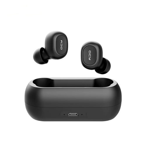 QCY Mini Dual Wireless V5.0 Bluetooth True 3D Stereo Sound Earbuds Dual Microphone With Charging box