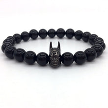 Load image into Gallery viewer, Batman Men Bracelet black | etrolleys.com