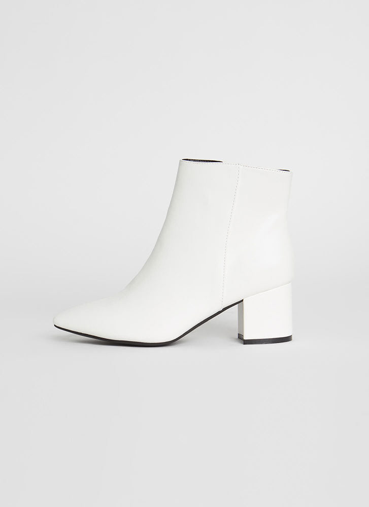 Rapid Bootie, White