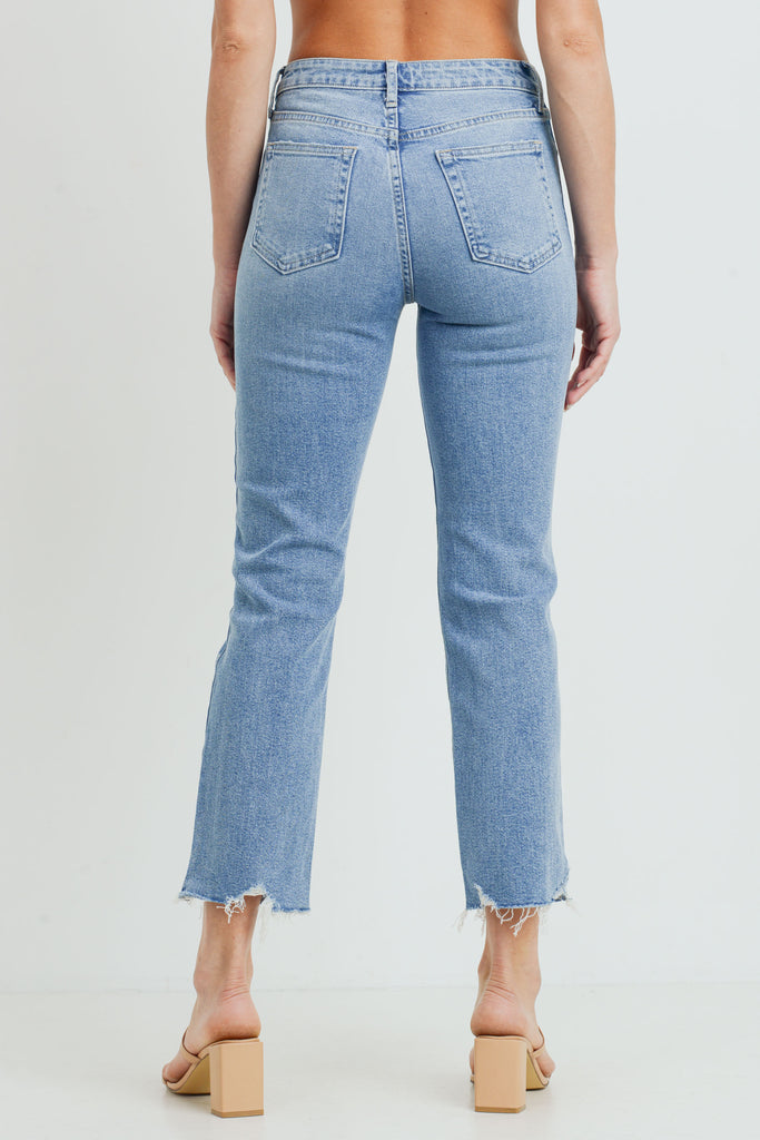 The Vintage Straight, Light Denim