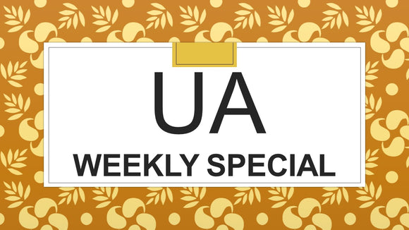 UA WEEKLY SPECIAL