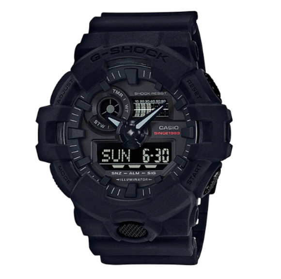 G-SHOCK 35TH ANNIVERSARY BLACK SERIES GA-735A-1ADR