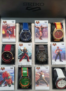SEIKO 5 SPORTS X STREET FIGHTER LIMITED EDITION - COLLECTOR'S PACK