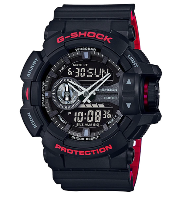 G-SHOCK DUO GA-400HR-1ADR