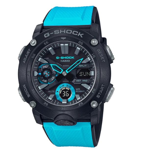 G-SHOCK CARBON CORE DUO GA-2000-1A2DR - Un Aime