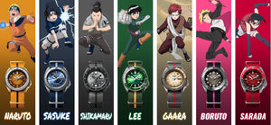 SEIKO 5 SPORTS X NARUTO & BORUTO LIMITED EDITION WATCHES - COLLECTOR'S PACK