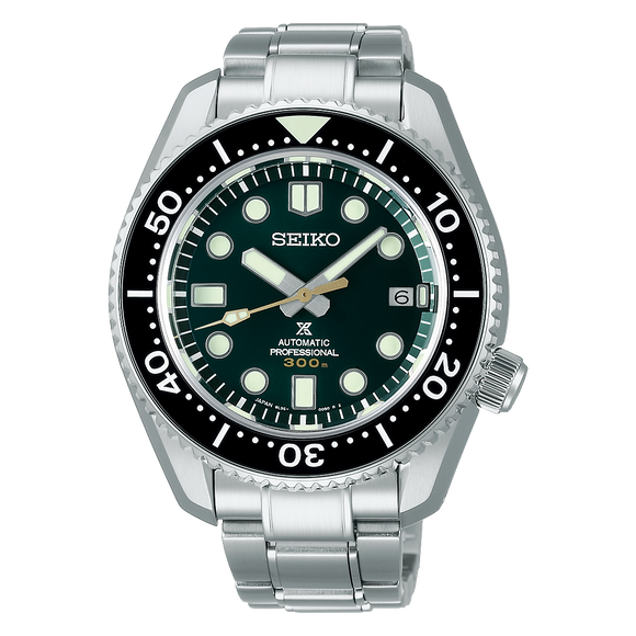 SEIKO PROSEPX 140TH ANNIVERSARY 'GREEN ISLAND' LIMITED EDITION MARINE MASTER SLA047J