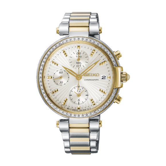 SEIKO LADIES CHRONOGRAPH SNDV42P1