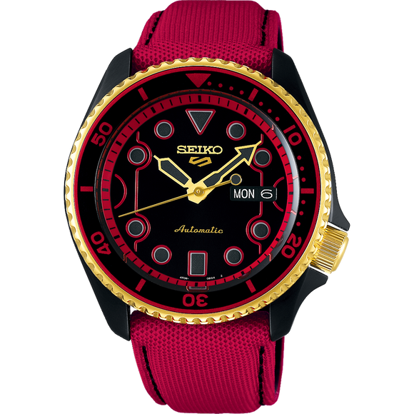 SEIKO 5 X STREET FIGHTER COLLABORATION LIMITED EDITION SRPF20K1 - KEN