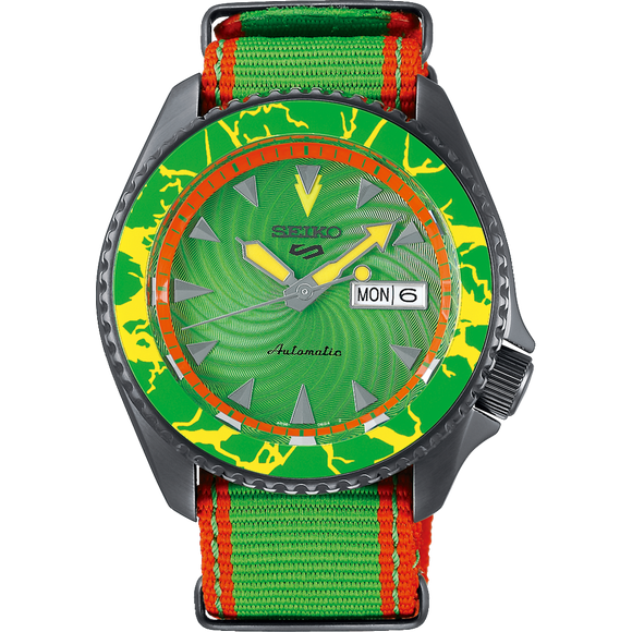 SEIKO 5 X STREET FIGHTER LIMITED EDITION SRPF23K - BLANKA