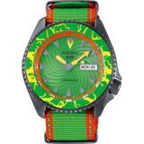 "SEIKO 5 X STREET FIGHTER LIMITED EDITION SRPF23K - BLANKA "" CALL OF THE WILD """