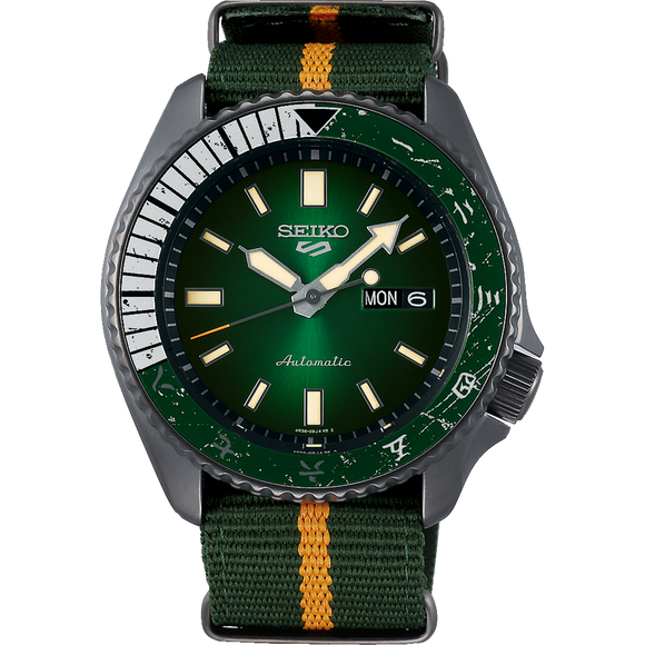 SEIKO 5 SPORTS X ROCK LEE LIMITED EDITION - SRPF73K