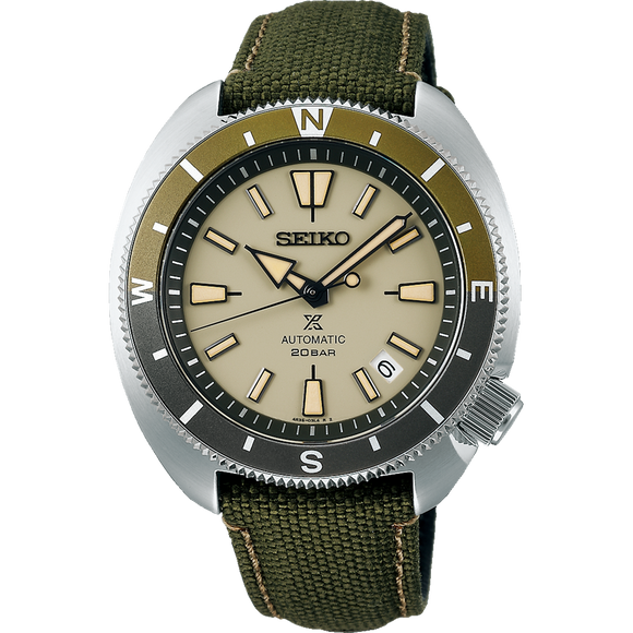 SEIKO PROSPEX LAND SERIES TORTOISE AUTOMATIC WATCH SRPG13K