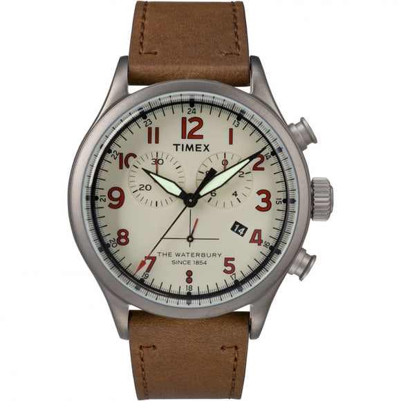 TIMEX WATERBURY CHRONOGRAPH TW2R38300