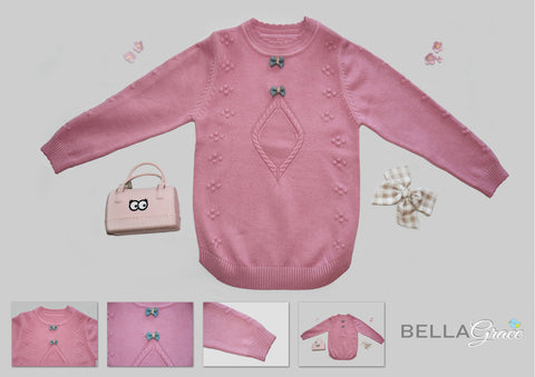 Children Jumper Sweater Wool | Bella Grace Australia