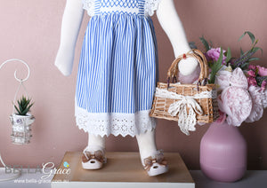 Sarah in Stripes Dress ( Children Smock Dress)
