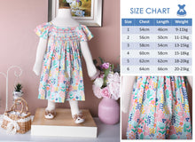 Load image into Gallery viewer, Retro 70's Chic (Children Smock Dress)