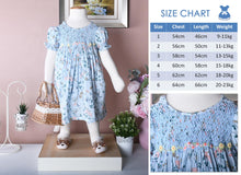 Load image into Gallery viewer, Children smock dress | toddler dress | Australia