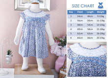 Load image into Gallery viewer, Susanne's Dress (Children & Toddler smock dress)