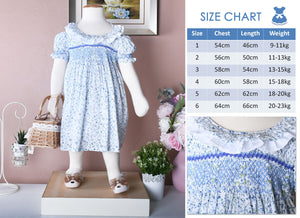 Children smock dress | toddler dress | Australia | Bella grace