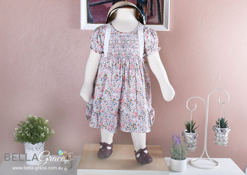 children toddler kids smock dress | bella grace australia