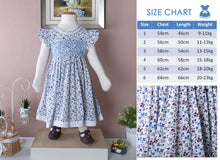 Load image into Gallery viewer, Lani lace children smock dress