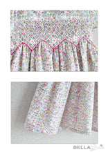 Load image into Gallery viewer, Mixed Flower Garden Dress (Children Smock Dress)