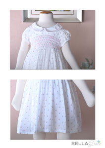 White Fair Lady (Children Smock Dress)