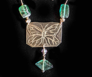 Nickel Silver Butterfly Set - Sunroot Studio