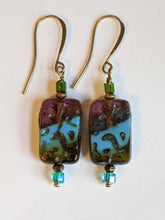 czech glass picasso earrings # 5 - sunroot studio