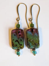 czech glass picasso earrings # 5