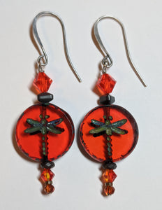 Dragonfly Earrings # 5