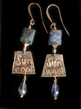copper tree set with iolite - sunroot studio