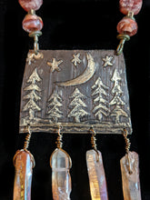 Load image into Gallery viewer, Brass moon & Pines Set - Sunroot Studio