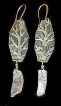 nickel silver & kunzite tree set - sunroot studio