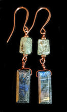 copper tree & labradorite set - sunroot studio