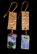 Load image into Gallery viewer, Tribal Copper & Charoite Set - Sunroot Studio