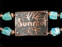 copper tree & apatite bracelet - sunroot studio