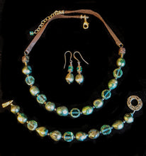 green pearl & glass set - sunroot studio