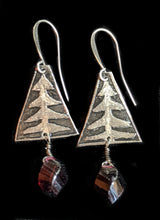 nickel silver moon stars & pines set
