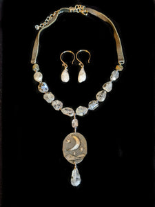 Moon & Moonstone Set - Sunroot Studio