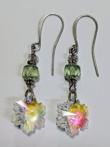 Crystal Snowflake Earrings # 10