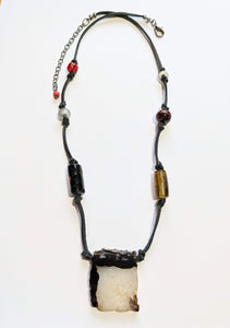 Tribal Agate necklace - Sunroot Studio