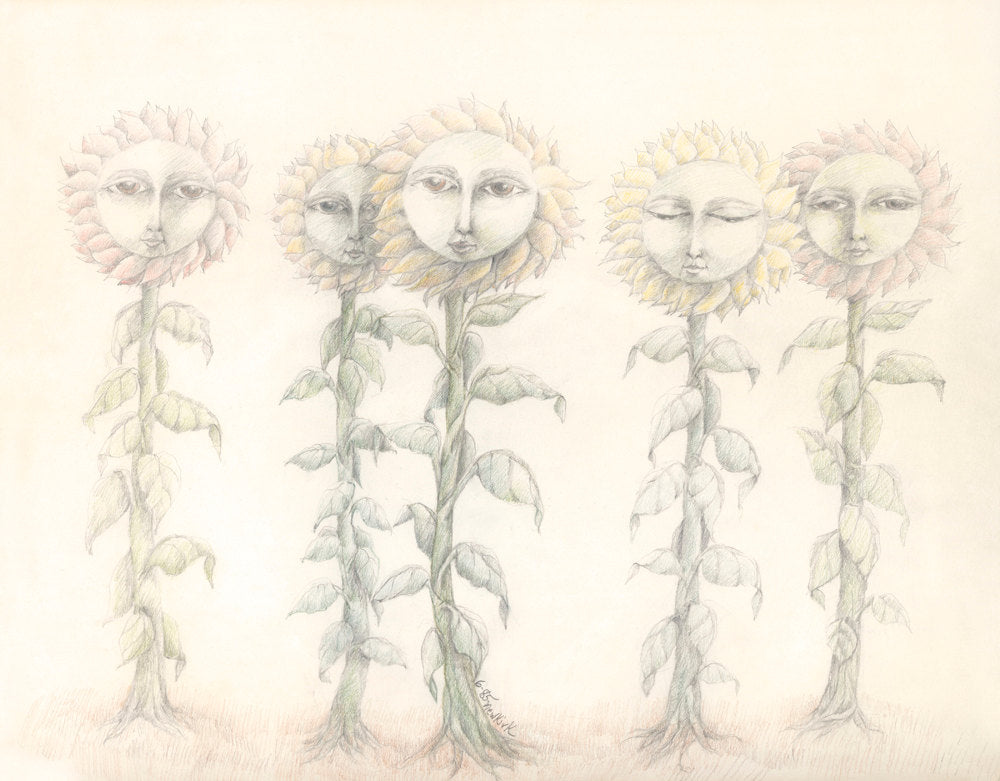 Sunflower Ladies 1 - Sunroot Studio