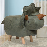 Animal Stool - Cera Triceratops