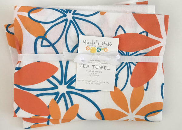 Judy Lynn - Tea Towel - Blooms