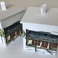 Judy Lynn - Paper Box with Depot Design - Medium