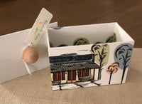 Judy Lynn - Paper Box with Depot Design - Large